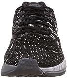 Nike Mens Air Zoom Structure 19, BLACK/WHITE-DARK