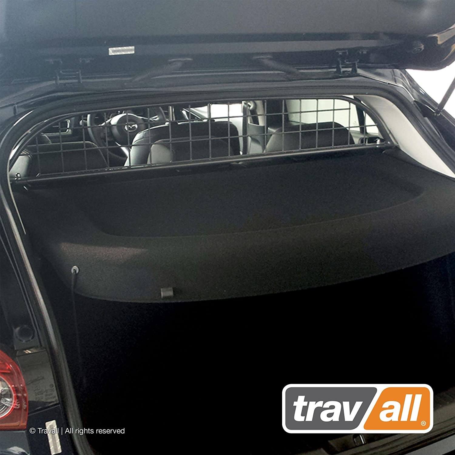 Travall Guard Compatible with Mazda3 4 Door Hatchback 2013-2018 TDG1456 – Rattle-Free Steel Pet Barrier