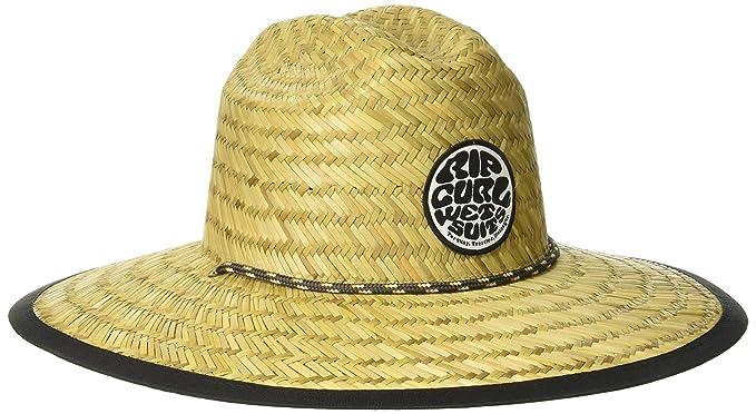 Rip Curl Men s Paradise Straw Lifeguard Sun Hat a8495f0933e