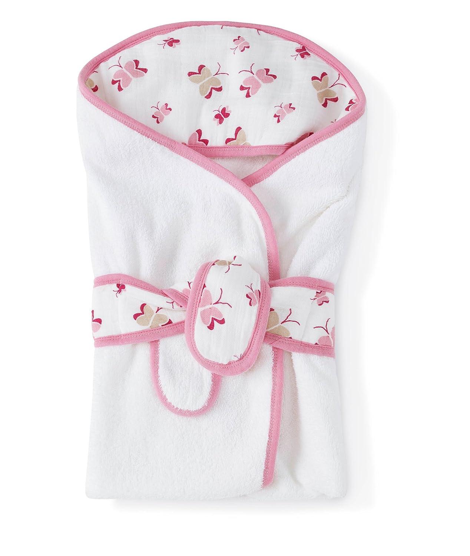 aden + anais Classic Baby Bath Wrap Princess Posie-Butterflies 3100F