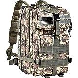 CVLIFE Outdoor Tactical Backpack Military Rucksacks for Camping Hiking and Trekking Medium Packs 40L