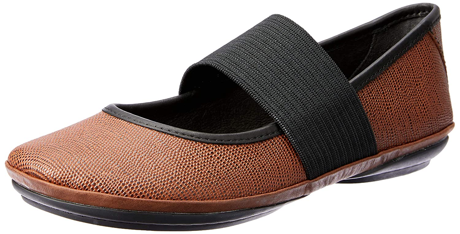 Multi - Assorted Camper Women's Right Nina K400194 Mary Jane Flat
