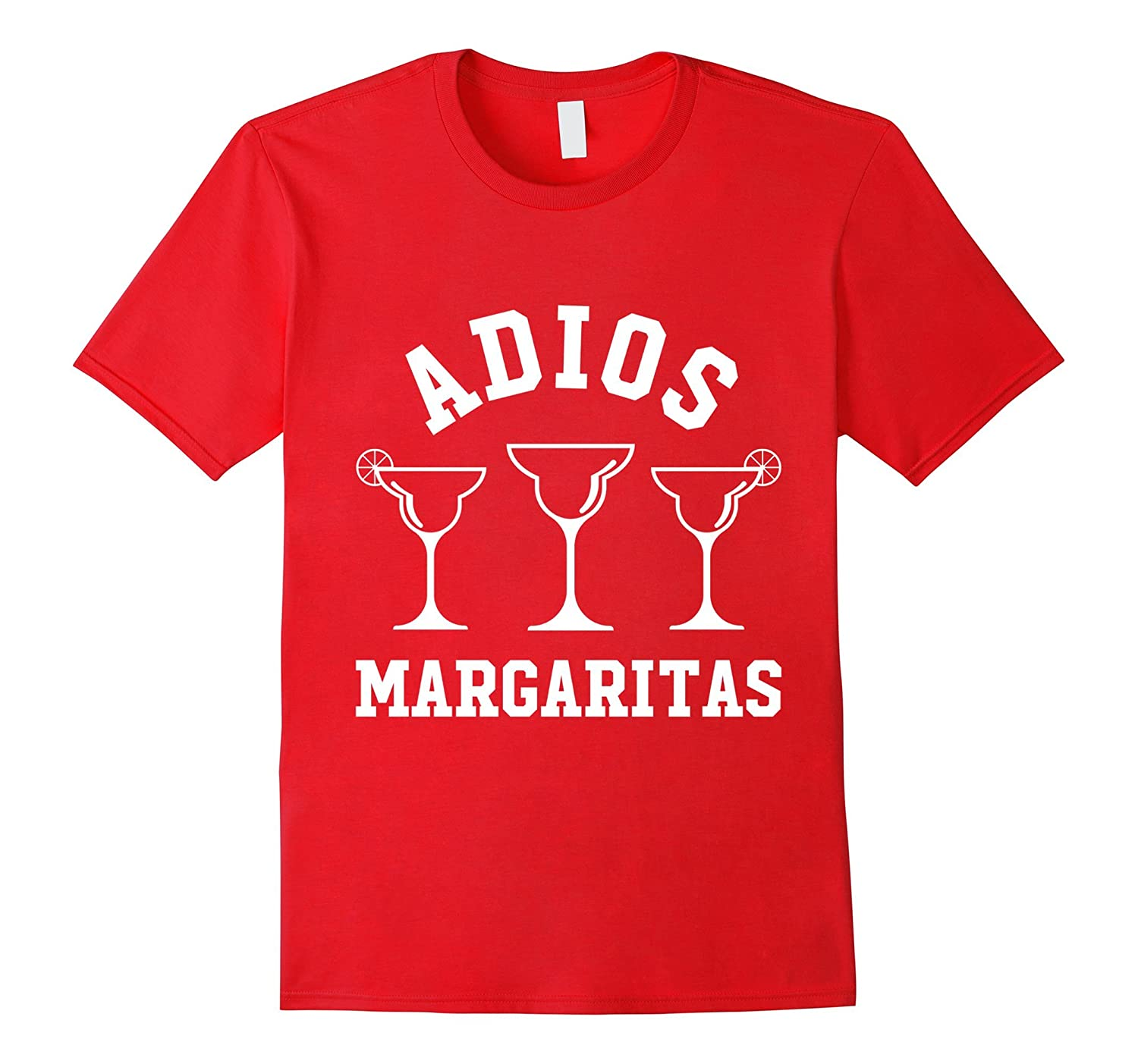 Adios Margaritas - Cinco De Mayo May Fifth Text T-Shirt-TH