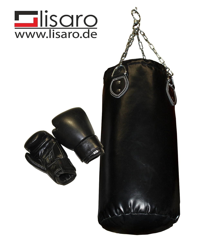 Boxsack/_Set 10kg mit Handschuhe f/ür Kinder//Jugendliche
