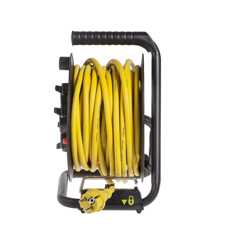 Stanley SXECCL27ARE Carrete de Cable 20m