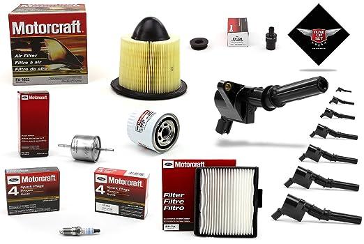 Amazon.com: TUNE UP KIT 1997 F150 V8 5.4L SOHC HEAVY DUTY IGNITION COIL DG508: Automotive