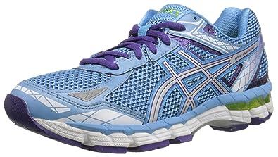 de718bb4507 ASICS Women's Gel-Indicate Running Shoe, Soft Blue/Lightning/Purple, 6