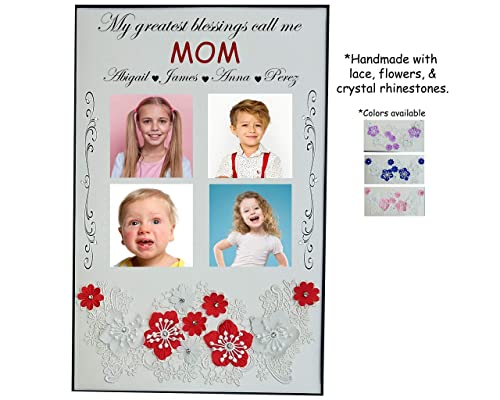Grandchildren Frame Father/'s Day Gift Idea Grandpa Photo Frame Gift For Grandpa  {My Greatest Blessings Call Me...}  Custom Picture Frame