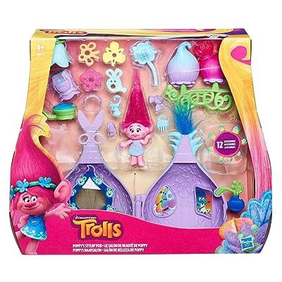 TROLLS - Kit salón de Belleza de Poppy (Hasbro B6559EU4): Juguetes y juegos