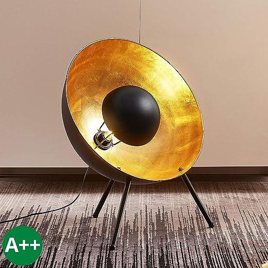 Lampe à poser \'Muriel\' (Moderne) en Noir en Métal e. a. pour ...