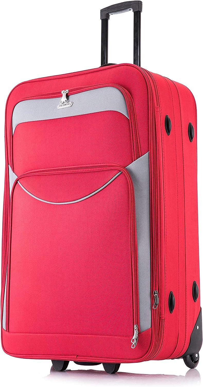 XL grande medio pequeño y ligero maleta equipaje bolsa de viaje CABINA Rojo Red Ryanair Cabin