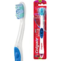Colgate 360° Optic White Power toothbrush Medium with vibrating and polishing bristles