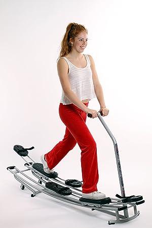 iStrider Cross Trainer esquí entrenador pierna entrenador vientre piernas entrenamiento quemador de grasa corporal reafirmante del
