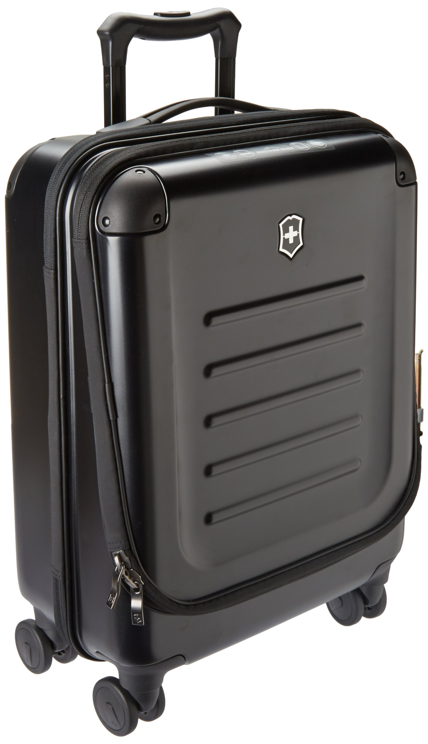 Victorinox Luggage Spectra 2.0 Dual-Access Global Carry-On, Black, One Size by Victorinox