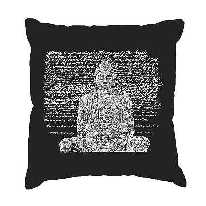 Ethelt5IV - Funda de cojín, diseño de Buda Zen: Amazon.es: Hogar