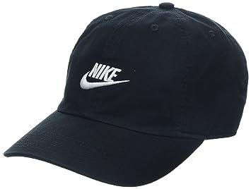 d9c36418e7c5d Nike Y NK H86 Cap Futura Chapeau Mixte Enfant, Noir (Black/White 010 ...