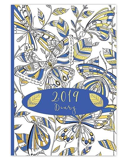 2019 Robert Frederick - Agenda ilustrada, color azul, 19 x ...