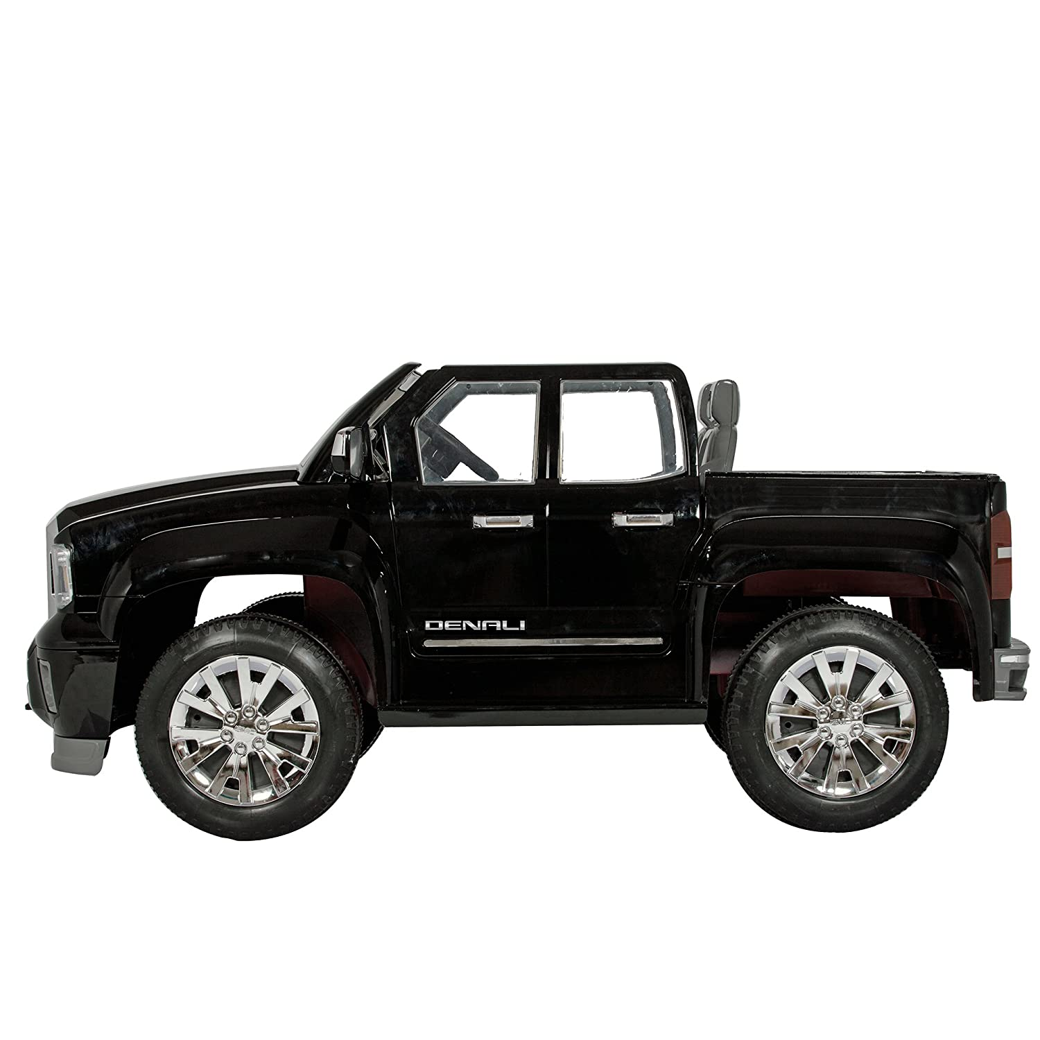 81VvlBX2l6L._SL1500_ amazon com rollplay gmc sierra denali 12 volt battery powered  at honlapkeszites.co