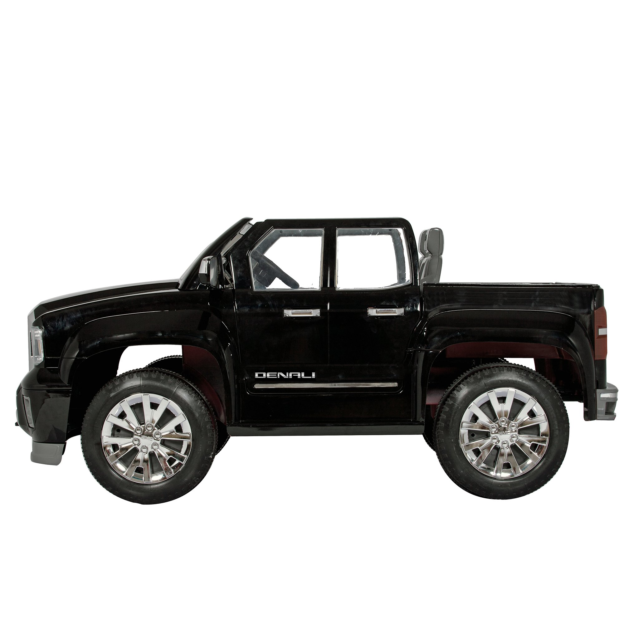 Rollplay GMC Sierra Denali 12-Volt Battery-Powered Ride-On, Black by Rollplay (Image #2)