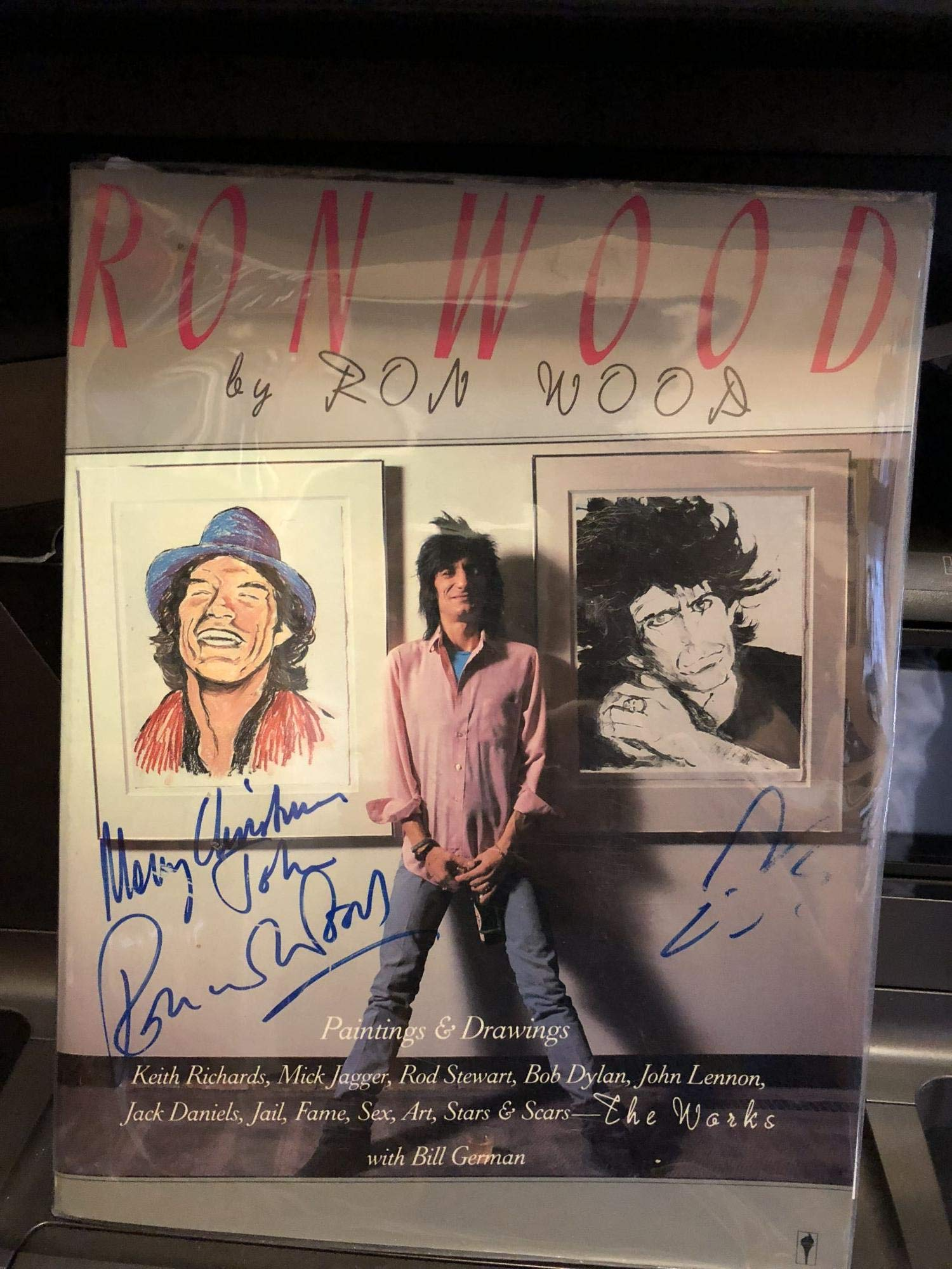 Ron Wood: The Works: Amazon.es: Wood Ron; Bill German ...