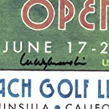 Signed 2010 U.S. Open Pebble Beach Print by Lee
