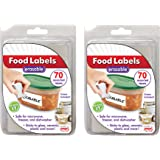 Jokari Erasable Food Labels 2 Pack Refill, Reusable, Freezer, Microwave and Dishwasher Safe Kitchen Tool for All Purpose…