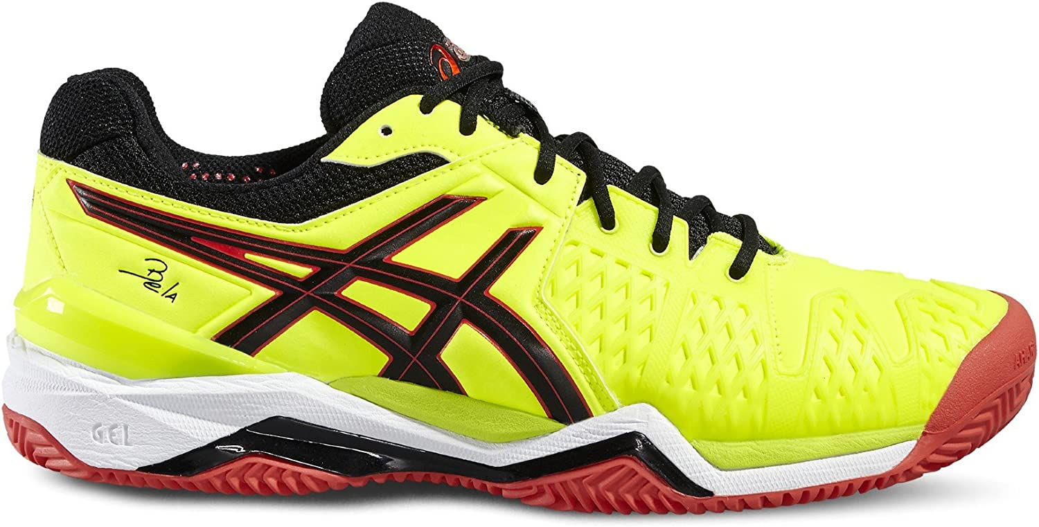 ASICS GEL BELA 5 SG AMARILLO NEGRO 2016 E607Y 0790: Amazon.es ...