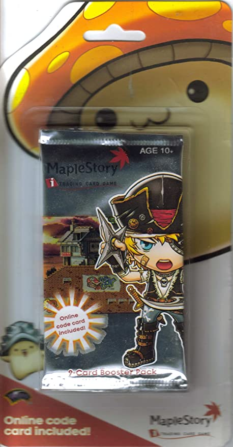 Amazon.com: maplestory 9-card Booster Pack: Toys & Games