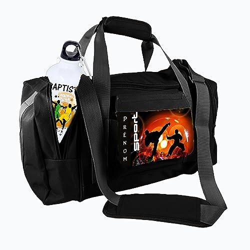 sac de sport karaté personnalisé avec prénom réf 38: Amazon