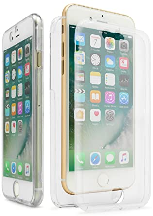 IPhone 7 Case Bastex Slim Fit Front And Back Full Body Protective Crystal Two Pieces
