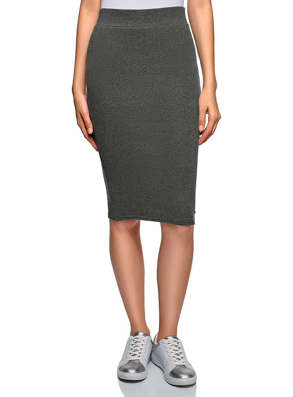 oodji Ultra Womens Jersey Midi Skirt