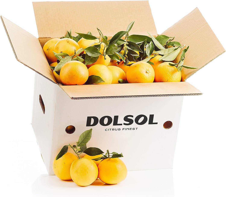 10kg Naranjas Navel DOLSOL. Familia de agricultores con campos en Tavernes de la Valldigna (Valencia) desde 1977. Ideal para comer o para zumo. ¡El sabor es lo nuestro! (10kg)