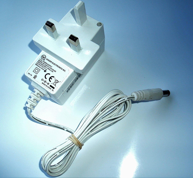 LEADER ELECTRONICS MV12-Y120100-B2 AC//DC POWER SUPPLY ADAPTER 12V 1A