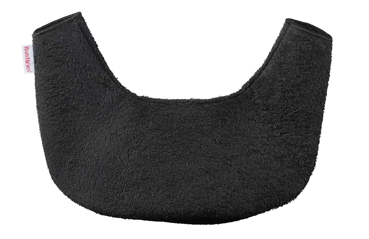 BABYBJÖRN Bib for Baby Carrier One, Black 030076