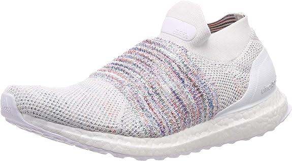 Adidas Ultraboost Laceless, Zapatillas de Running para Hombre, Blanco (FTWR White/Active Red/Active Green FTWR White/Active Red/Active Green), 44 2/3 EU: Amazon.es: Zapatos y complementos