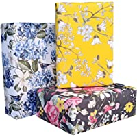 Aakar Pack of 6, Size 17 x 29 Inches, Wrapping Paper Sheets For Craft, Packing, Birthday, Christmas, Wedding (Sun Bird…