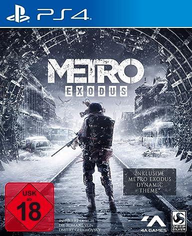 Metro Exodus [Day One Edition] - PlayStation 4 [Importación alemana]: Amazon.es: Videojuegos