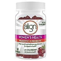 Align Women's Prebiotics + Probiotics Supplement Gummies, 50 Count, Digestive Health...