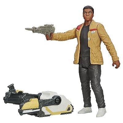 Star Wars The Force Awakens 3.75-Inch Figure Desert Mission Finn (Jakku): Toys & Games