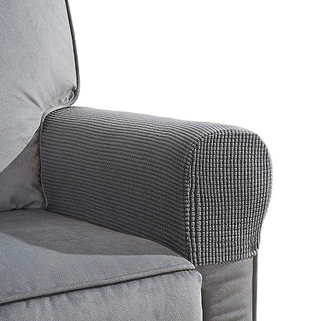 Sensational Amazon Com Eeekit Sofa Armrest Covers 2 Pack Anti Slip Pabps2019 Chair Design Images Pabps2019Com