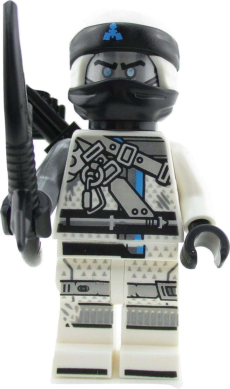 LEGO Ninjago Zane Ninja Minifigure 70655 Hunted Mini Fig