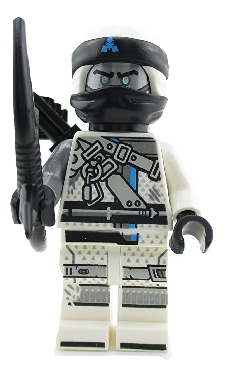 Amazoncom Lego Ninjago Zane Ninja Minifigure 70655 Hunted Mini Fig