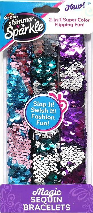 Cra-Z-Art Magic Sequin Strap Bracelets