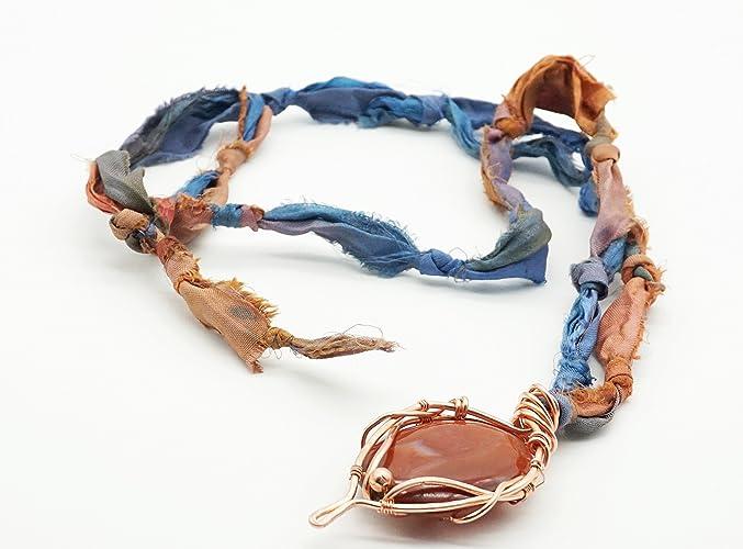 Anhänger Damenschmuck Damenkette Edelsteinschmuck handgefertigt ...