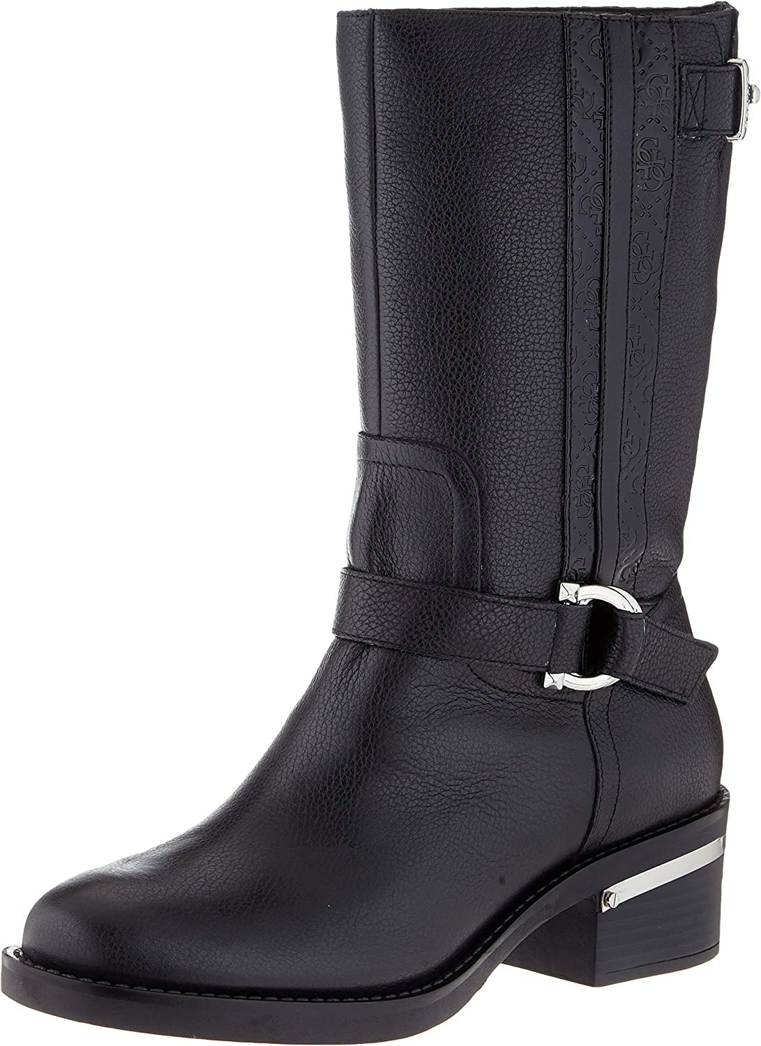 Guess Finnie/Stivale (Boot)/Leather, Botas Altas para Mujer