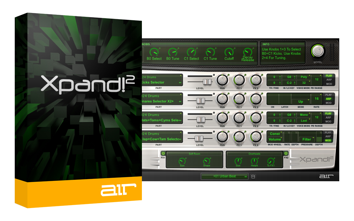 Xpand!2 MULTITIMBRAL ALL-IN-ONE WORKSTATION [Download]