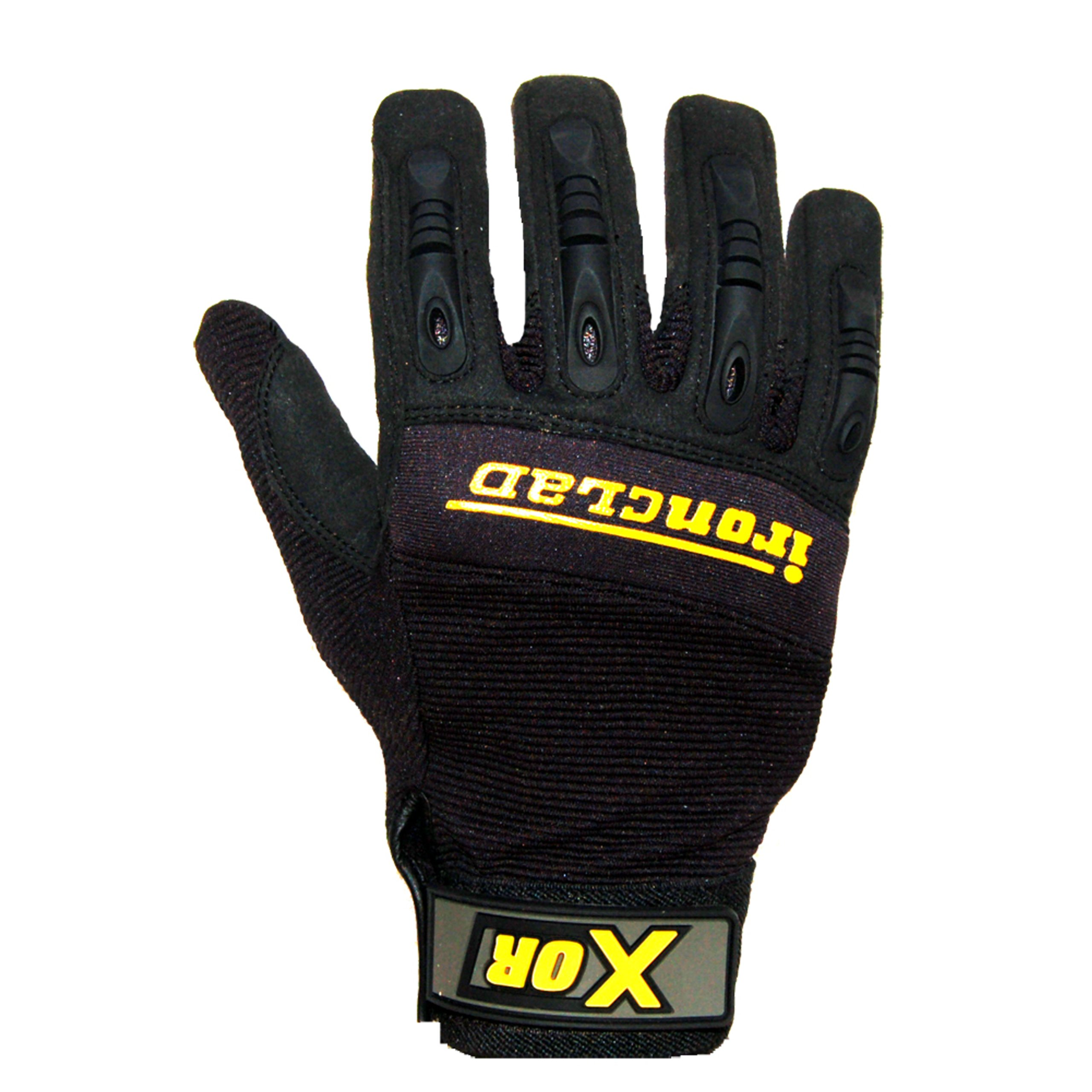 Ironclad NIMG-02-S XOR Oil Resistant Impact Glove, Black, Small