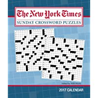 The New York Times Sunday Crosswords 2017 Weekly Planner Calendar