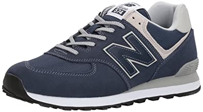 new concept 9b0b2 e62bb New Balance Men's 574v2 Evergreen Lifestyle Sneaker, Black Iris, 14 4E US