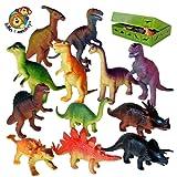 Dinosaur toy plastic figures set of 12